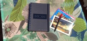 cahier The Concept Book en vacances