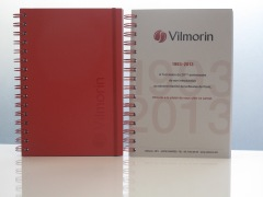 cahier personnalisé Vilmorin