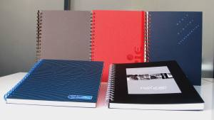 cahier personnalise the concept book format 185 x 255 mm