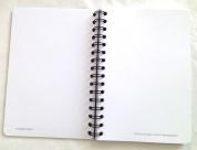 cahiers avec pages de notes personnalisées
